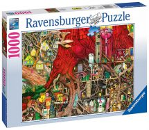 Ravensburger 19644 High Quality 1000 Pieces Hidden World Jigsaw Puzzle - Multi