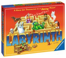 Ravensburger 26448 Labyrinth A Race For Treasure Maze Family Game 8+ Years New