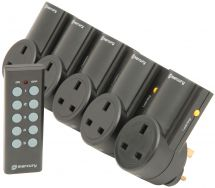 Mercury 350.115 Remote Control Mains Socket Adaptor Set - 5 Pack