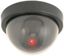 Mercury 351.081 Dummy Dome CCTV Camera Flashing LED Passive Security Deterrant