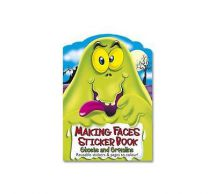 Holland Publishing Making Faces � Ghosts & Gremlins Sticker Book MF1