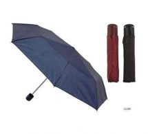 KS Brands UU0096 Taslon Supermini Umbrella Matching Sleeve Assorted Colours New