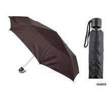 KS Brands UU0072 21 Inch Taslon Supermini Umbrella With Matching Sleeve - Black