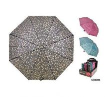 KS Brands UU0235 Ladies Fashion Design Supermini Umbrella Assorted Colours - New