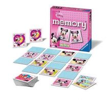 Ravensburger 22183 Minnie Mouse Mini 24 Paired Cards Childrens Memory Game - New