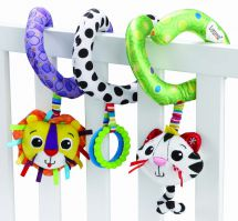 Tomy Lamaze LC27142 Play & Grow Baby Toy Activity Spiral Doll Colours & Textures