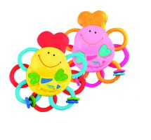 Lamaze LC23076 Baby Teething Toy Massaging Teether Releif Bright Colours Mixed