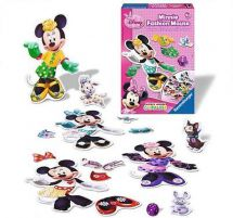 Ravensburger 22187 Disney Minnie Mouse Fashion Mouse Childrens Game - New