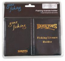 Boyz Toyz RY272 Gone Fishing Angling License Protector Holder Carry Wallet Case