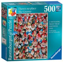 Ravensburger 14316 There's No Place Like Gnome Adults 500 Piece Jigsaw Puzzle