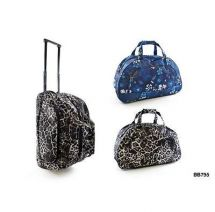 KS Brands BB0795 Printed Weekend Wheeled Trolley Bag 2 Designs - New