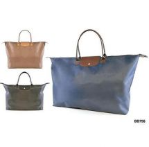 KS Brands BB0796 Spacious Large Folding Fashion Tote Bag 3 Colours - New