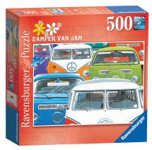 Ravensburger 14207 Camper Van Jam Adults 500 Piece Jigsaw Puzzle - New