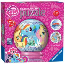 Ravensburger 11824 My Little Pony 3D Puzzle 72pc Jigsaw Children Girls - Multi