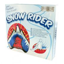 Boyz Toys RY770 Inflatable Sledge Snow Rider 100cm Hill Slider Vinyl Lil Devil
