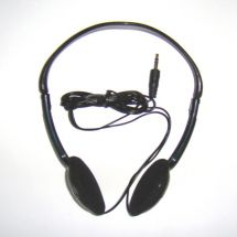 Omega HP-23 Digital Stereo Over Ear Headphones for iPod Mp3 CD Players Black New