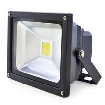 Lloytron L8512 Long Life 20w LED Floodlight w/ Screws & Rawl Plugs - Black - New
