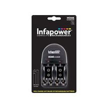 Infapower C007 Mains Powered Universal Black Battery Charger AA, AAA, 9V - New
