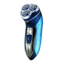Omega 20805 Mens Electric Shaver Mains Powered Cordless Rechargeable Washable