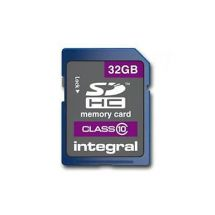 Integral SDHC Class 10 16GB Memory Card & Protective Case