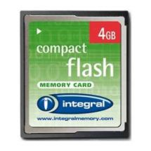 Integral 4GB Compact Flash Memory Card