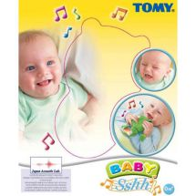Tomy 1168 Baby Sshh! Bee Anti Cry Stop Crying Music Toy