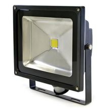 Lloytron L8515 Wall Mountable 50W Equivalent 4000lm LED PIR Floodlight 25cm Cord