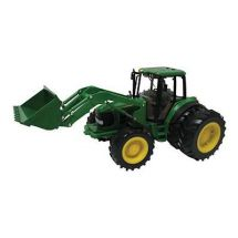 Britains Big Farm John Deere 6830S Tractor With Dual Wheels & Front Loader  42425