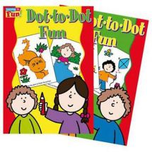 Holland Publishing Rainy Day Dot to Dot Fun 32H