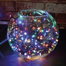 Lyyt 155.613 Outdoor LED Battery Operated String Lights with Timer Multicolour