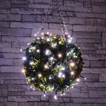 Lyyt 155.614 Outdoor LED Battery Operated String Lights with Timer IP44 Rated