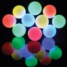 Lyyt 155.681 Weatherproof 10 Bauble Outdoor Festoon Multicolour LED for Parties