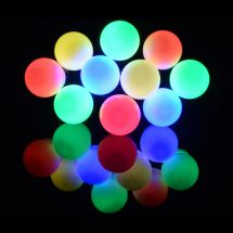 Lyyt 155.684 10 Bauble Indoor Battery Operated LED Festoon Lights Multicolour