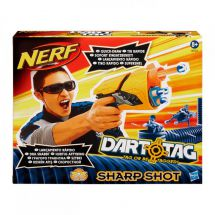Nerf 38123 Dart Tag Toy Gun 'Sharp Shot' Quick Release Belt Clip Whistling Darts