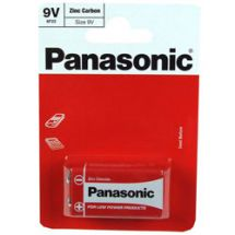 Panasonic 9v PP3 Standard Size Non Recharageble Battery