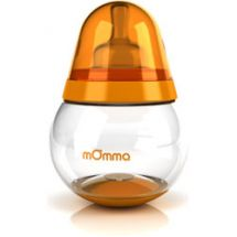 Tomy mOmma Baby Feeding Bottle 250ml 1 Pack - Orange
