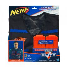 Nerf A0250 N-Strike Tactical Vest Includes 2 Quick Reload Clips and 12 Darts New