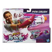 Nerf A4739 Rebelle Pink Crush Girls Nerf Blaster Shoots Darts up to 75 Feet New
