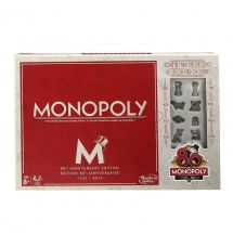 Hasbro B0622 80th Year Anniversary Edition Monopoly Classic Board Game - New