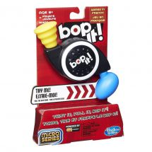 Hasbro B0639 Bop It Micro Series Classic Childrens Rhythmic Game Also In French