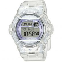Casio BG-169R-7EER Shock Resistant with 200M Water Resistant Baby G Watch - Wht