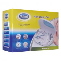 Scholl DRSP3570 Manicure Pedicure Integrated Dryer Cord Cordless Nail Beauty Set