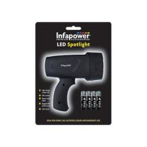 Infapower LED Spotlight & Batteries F017