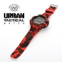 IGGI 040 Urban Tactical Watch With Camouflage Pattern Desert Red - New