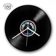 Gifthouse International 30514 IGGI Retro Record Wall Clock Time For Music 1 of 4