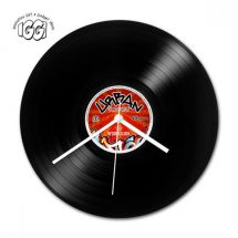 Gifthouse International 30516 IGGI Retro Record Wall Clock Urban Grooves 1 of 4