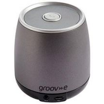 Groov-e GVSP162 BOOM Wireless Bluetooth Speaker with Microphone - Charcoal Grey