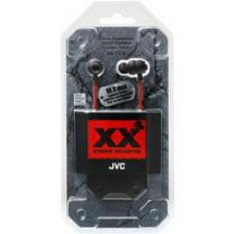 JVC HAFX1X Xtreme Xplosives Extreme Deep Bass In Ear Headphones Black/Red - New