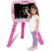 Hello Kitty HKC191 Adjustable Activity Drawing Easel With Accessories and Pens