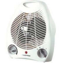 Lloytron F2001WH 2Kw Upright Electric Fan Heater White